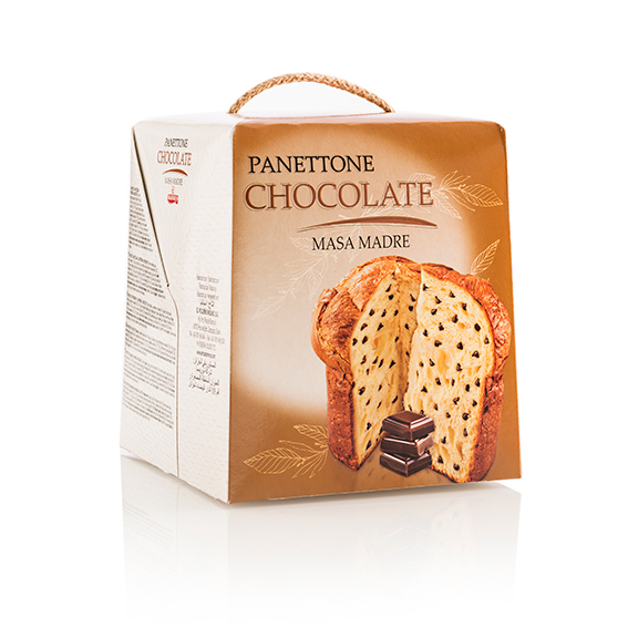 Panettone chocolate 500 gr.