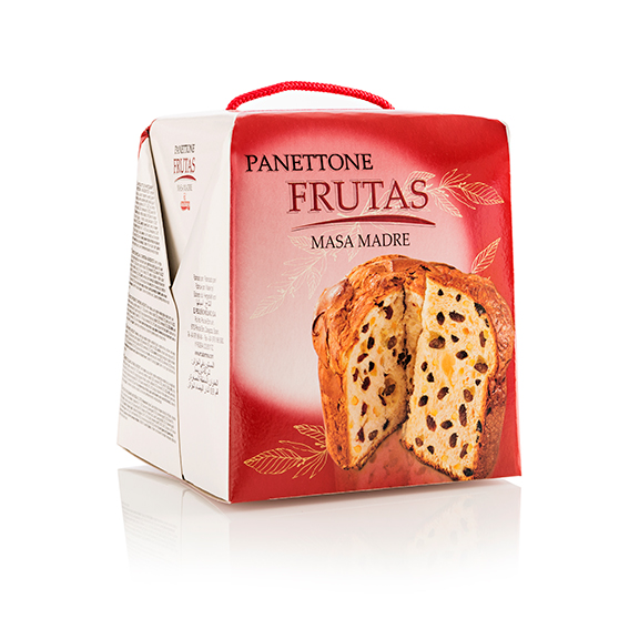 Panettone frutas 500 gr.