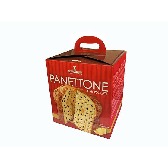 Panettone mantequilla-chocolate 1 Kg.