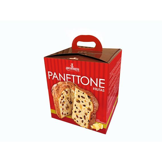 Panettone mantequilla-frutas 1 Kg